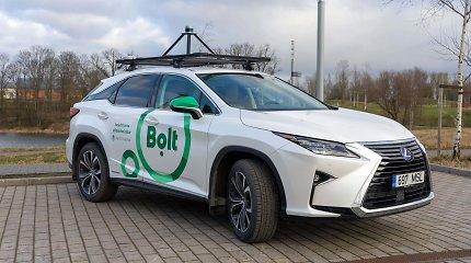 """""""Bolt"""" ir Tartu universiteto partnerystės rezultatas – savivaldžio vairavimo laboratorija"""