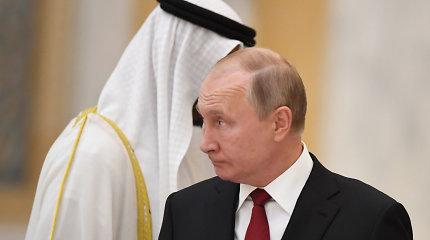 Rusija ir Saudo Arabija pasirašė susitarimą dėl glaudesnio bendradarbiavimo naftos srityje