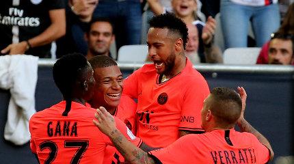 PSG pergalę ir vėl nulėmė Neymaro įvartis