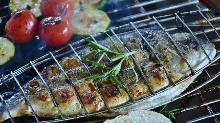 Ant grotelių kepame žuvį ir jūros gėrybes: 14 paprastų ir rafinuotų patiekalų