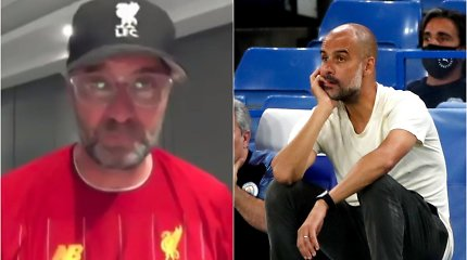 J.Kloppas triumfo akimirką neslėpė ašarų, P.Guardiola nukėlė kepurę prieš varžovą