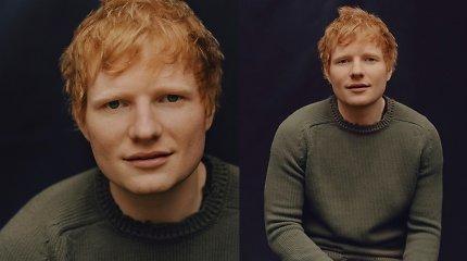 Muzikos stilių pakeitęs E.Sheeranas pristatė singlą ir paskelbė apie naują albumą