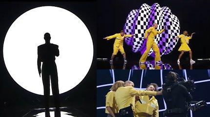 """Paviešinti atsarginiai """"The Roop"""" ir kitų šalių pasirodymų """"Eurovizijoje"""" variantai"""