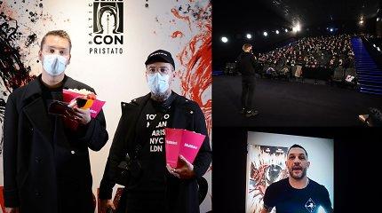 """""""Venomas 2"""" premjeroje – žinomi žmonės ir 290 gerbėjų skirta T.Hardy žinutė"""