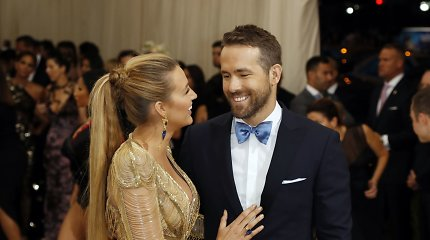 Aktoriai Ryanas Reynoldsas ir Blake Lively susilaukė trečios atžalos: žinią slėpė du mėnesius