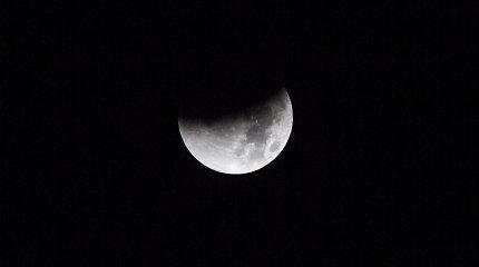 Mėnulio užtemimas Vilniuje
