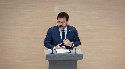 Katalonų separatistų kandidatas vėl neišrinktas regiono prezidentu