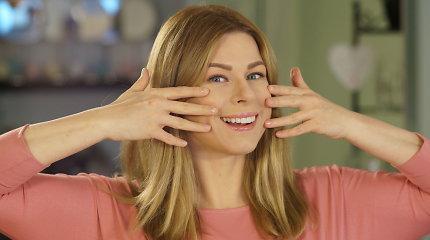 Pratimas, padėsiantis sumažinti raukšlių lūpų ir nosies bei skruostų zonose