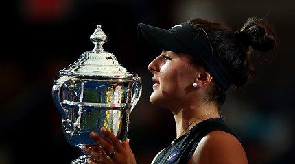 """Laukimas tęsiasi: S.Williams inicijavo spurtą, tačiau """"US Open"""" laimėjo jaunoji kanadietė"""