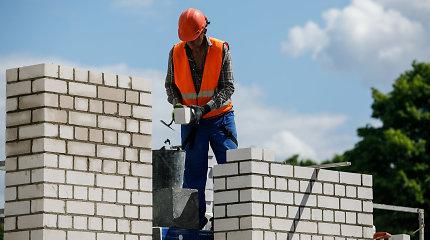 Didžiojoje Britanijoje norima trumpinti darbo savaitę statybininkams