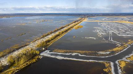 Pamario gyventojai žvalgosi į vandenis: potvynio pavojaus dar nematyti