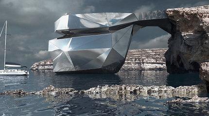 Sugriuvusią žymiąją Maltos arką rusų architektas siūlo atstatyti iš veidrodžių