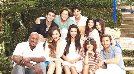 Kardashian populiarumo paslaptis: skandalai, nuosmukiai ir milijardinis turtas
