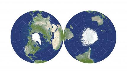 Dar nematytas žemėlapis – ar pagaliau matysime teisingą pasaulio atvaizdą?