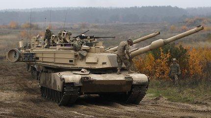 Kada atsiras elektriniai tankai? Jie suteiktų nemenką taktinį pranašumą