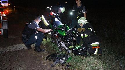 Per avariją Panevėžio rajone sužalotas motociklininkas mirė ligoninėje