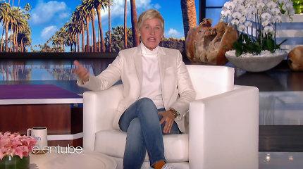 Patvirtinusi žinią apie nutraukiamą pokalbių šou, Ellen DeGeneres susigraudino