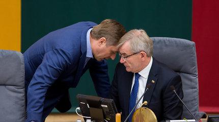 Pasakyta/Padaryta. V.Pranckietis žadėjo valstybės vadovo statusą V.Landsbergiui. Pamiršo?