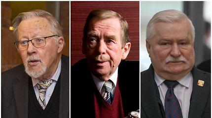 Nuo V.Landsbergio iki V.Havelo: ne visi laisvės šaukliai tapo prezidentais