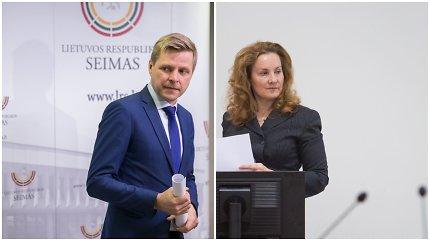 """R.Šimašius puola A.Vaitkunskienę dėl gatvės asfaltavimo šalia jos namų: """"Verslininkai jaučiasi spaudžiami"""""""