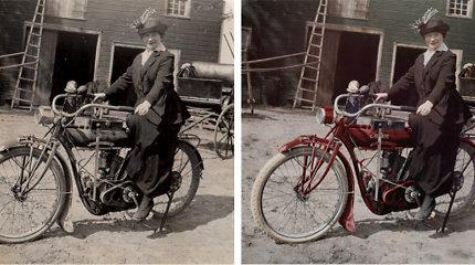 Iš praeities į dabartį: nematytos Lietuvos šimtmečio nuotraukos spalvotai