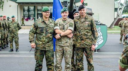 Pasikeitė Lietuvoje dislokuotos NATO pajėgų kovinės grupės vadas