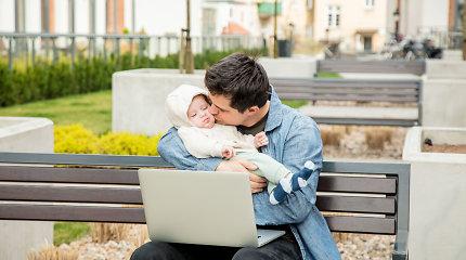 Ministerija siūlo įvesti dviejų mėnesių vaiko priežiūros atostogas tėčiams