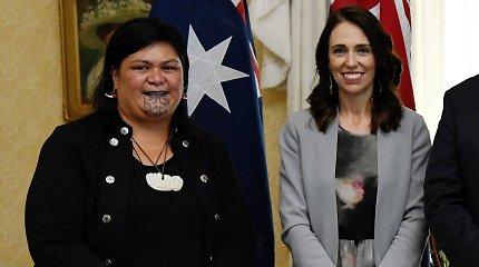 Naujosios Zelandijos kabinete – tatuiruota ministrė maorė, homoseksualus vicepremjeras