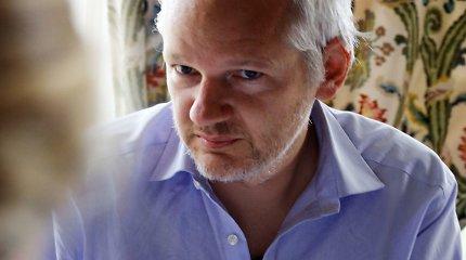 Meksika siūlo Julianui Assange'ui politinį prieglobstį