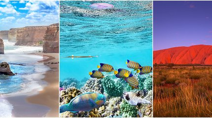 Įkvepianti Australijos gamta: 10 vietų, kurias verta aplankyti