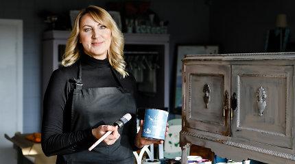 Kaip dažyti baldus namuose? Norintiems atnaujinti interjerą – Giedrės Mazienės patarimai