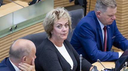 Seime teikiamas siūlymas atlikti tyrimą dėl VTEK narių, grįžtama prie I.Rozovos klausimo