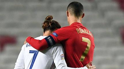 Tautų lyga: C.Ronaldo nusilenkė pasaulio čempionams, S.Ramosas neįmušė net dviejų baudinių