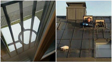 Sujudimas Užupyje: kratos bute išvengti bandęs vilnietis grasino šokti per langą