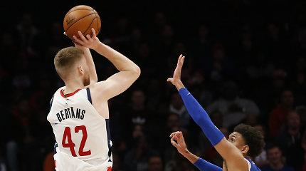 """NBA: latvis šėlo Šarlotėje, o """"Heat"""" krepšininkai rungtynes nusėjo rekordais"""