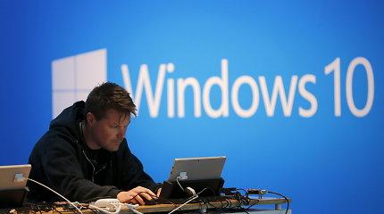 """""""Windows 10"""" privatumo iššūkiai, apie kuriuos turėtumėte žinoti"""