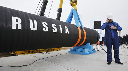 """Rusija 10 dienų planuotai sustabdė dujotiekį """"Nord Stream"""""""