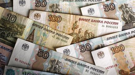 Rusijos bankas sumažino bazines palūkanas iki 6 proc.