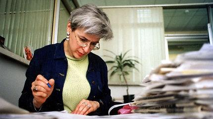 Rusijos liberalai mini 12-ąsias Kremliaus kritikės A.Politkovskajos nužudymo metines