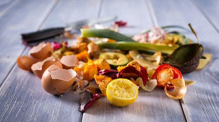 Lietuvos miestai neskuba rūšiuoti maisto atliekų, svarstoma kelti mokestį