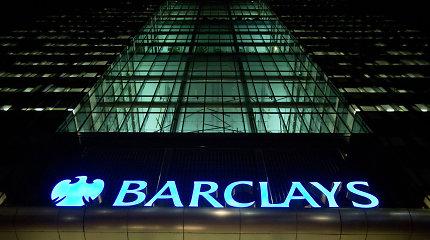 """Buvusiam """"Barclays"""" vadovui panaikinti kaltinimai dėl sukčiavimo"""