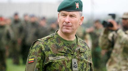 Vadovavimą Lietuvos kariuomenės sausumos pajėgoms perėmė Valdemaras Rupšys