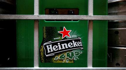 """""""Heineken"""" pirmojo pusmečio grynasis pelnas siekė 1 mlrd. eurų"""