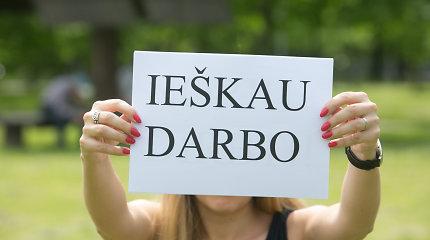 Eurostatas: nedarbas Lietuvoje spalį didesnis nei ES vidurkis