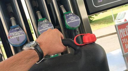 Panevėžio degalinėje – godus dyzelino vagis: po savaitės pranešama apie šimtų litrų degalų dingimą