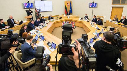 Vyriausybė pritarė keturių naujų ambasadorių skyrimui