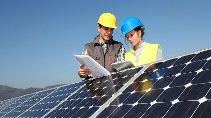 Saulės elektrinėms ir šildymo katilams – dukart daugiau paramos