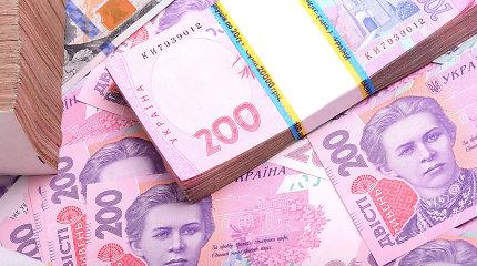 Ukrainai bankų krizė kainavo 200 mlrd. grivinų
