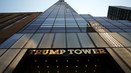 """""""Buzzfeed"""": D.Trumpas planavo V.Putinui padovanoti prabangius apartamentus"""