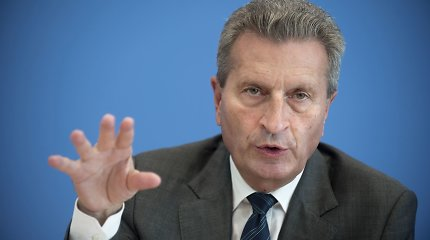 G.Oettingeris: ES po 10 metų iš Kaspijos regiono galėtų gauti 20-25 mlrd. kubų dujų